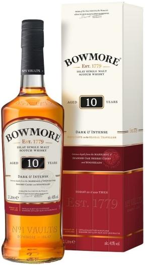 Bowmore 10 YO 40% 1L