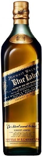 Johnnie Walker Blue Whiskey 40% 1L