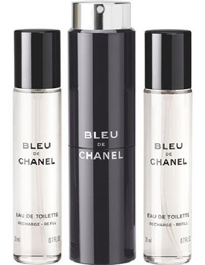 Bleu de Chanel Vaporisateur de Voyage Rechargeable 3х20 ml