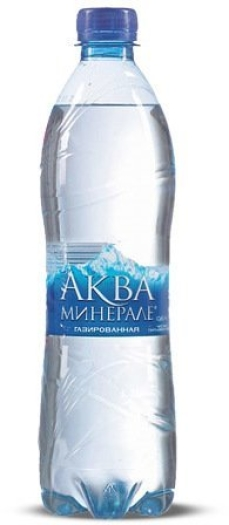 Aqua Mineral Water Carbonated 0.6L