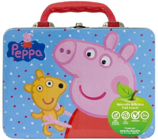 Pig peppa Paw Patrol Luchbox with fruit gums without added sugar 50G