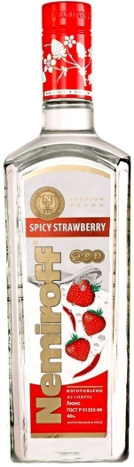 Nemiroff Spicy Strawberry 1L