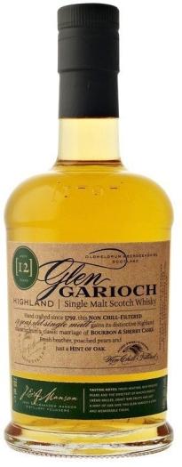 Glen Garioch 12 Year Old 48% Whiskey 1L