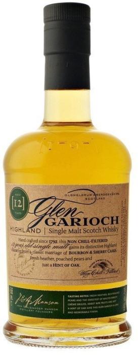 Glen Garioch 12 Year Old 48% Whiskey 1L