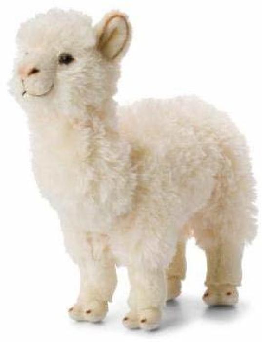 WWF Alpaca white