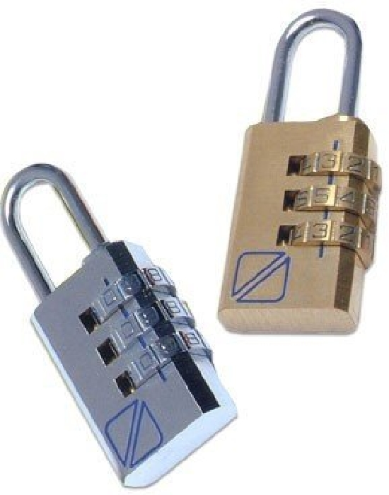 Travel Blue 2 x Combi Locks