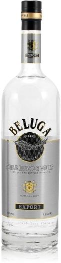 Beluga Noble Russian Vodka 40% 1L