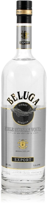 Beluga Noble Russian Vodka 40% 1L