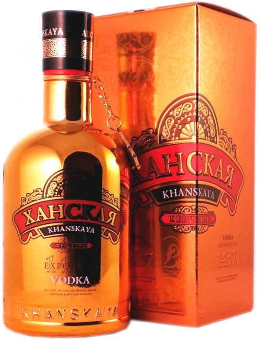 Khanskaya Republic Vodka 0.5L