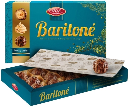 AVK Confectionery Baritone Nutty Taste 210g