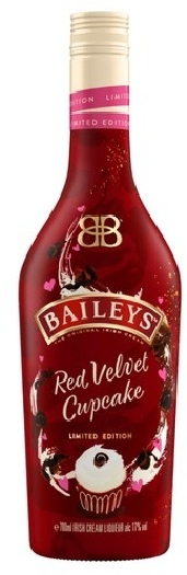 Baileys Red Velvet Cupcake Irish Cream Liqueur 17% 0.7L