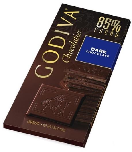 Godiva black 85 100g