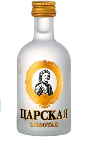 Czar's Gold Vodka 0.05L