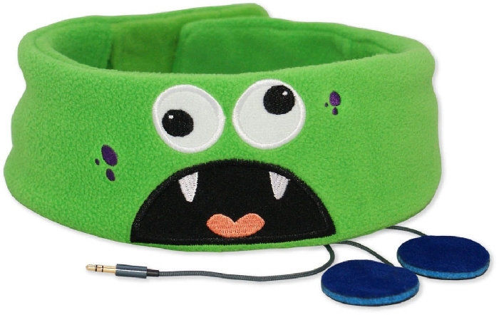 Snuggly Rascals Comfy Headband Head For Kids - Monster