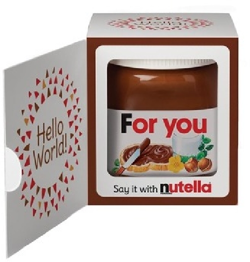 Nutella 4 Gift box 350g