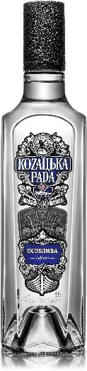 Kozatska Rada Special Vodka 40% 1L