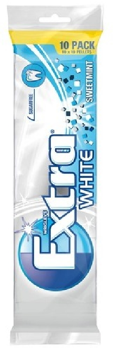 Wrigley's Extra White Sweetmint multipack 10x10 pallets