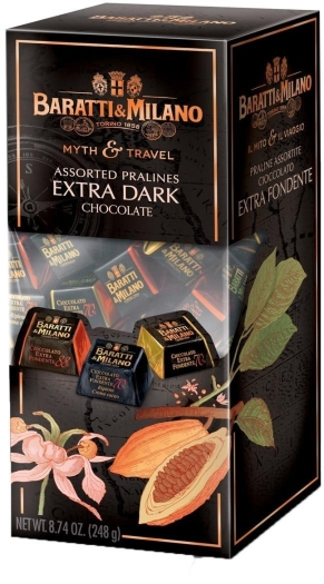 Baratti&Milano - Il Mito e il Viaggio - Assorted Dark Chocolate Praline 249g