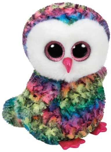 Glubschis Owen,Owl multicolored