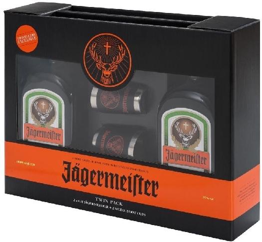 Jagermeister + Tin Cups 2x0.5L