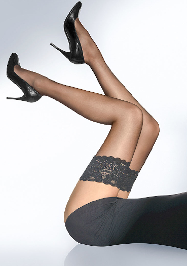 Wolford Satin Touch 20 Stay-Up XS
