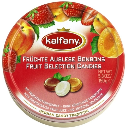 Kalfany Fruit Selection candies 150g