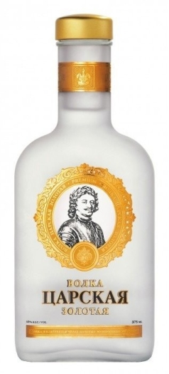 Czar's Gold Vodka 0.375L