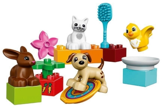LEGO System AS, line Duplo, family pets