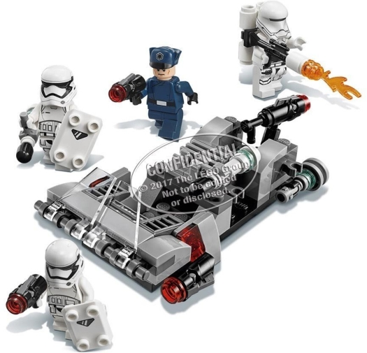 LEGO Star Wars 75166 Speeder Battle Pack