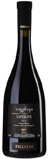 Tbilvino Saperavi Red Dry 13.5% 0.75L