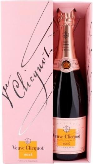 Veuve Clicquot Champagne Brut Rose 0.75L