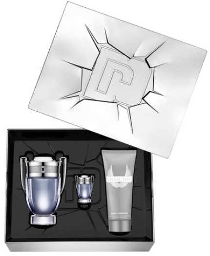 Paco Rabanne Invictus Set 100ml + 100ml + 5ml