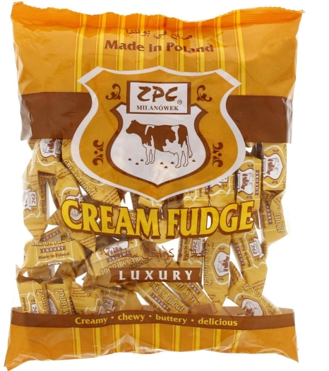 ZPC Cream Fudge Luxury 775g