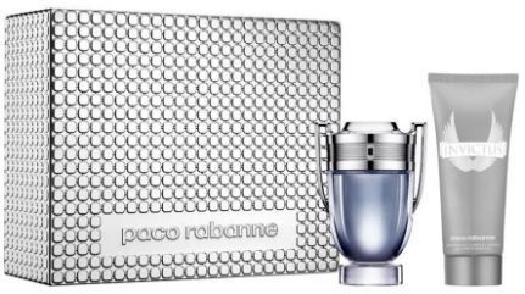 Paco Rabanne Invictus Christmas Set Set cont.: Eau de Toilette 100 ml + Shower Gel 100 ml