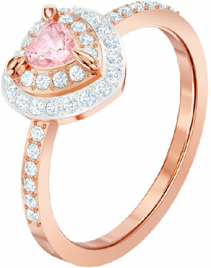 Swarovski One Ring, Multi-coloured, Rose Gold Plating