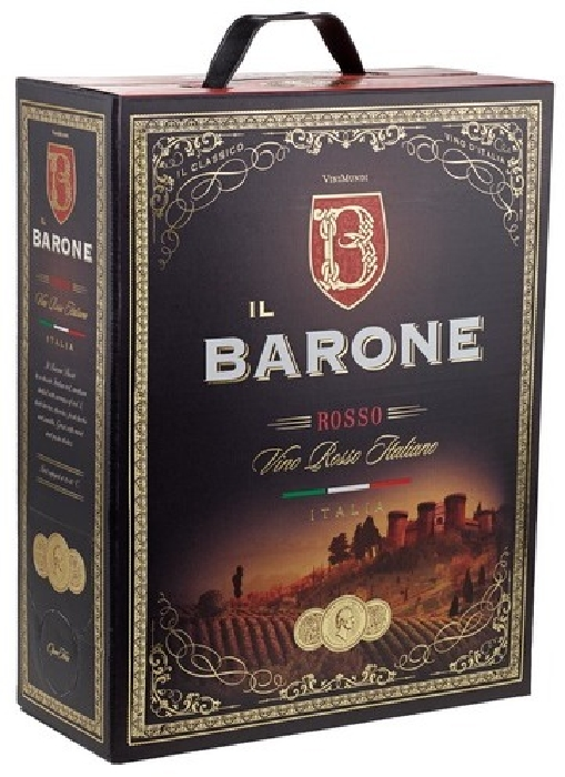 Il Barone Vino Rosso Italiano 3L
