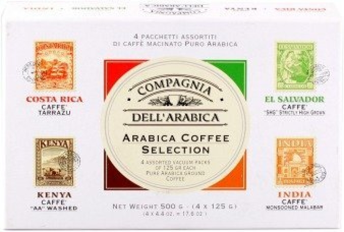 Compagnia dell'Arabica Coffee set 4x125g