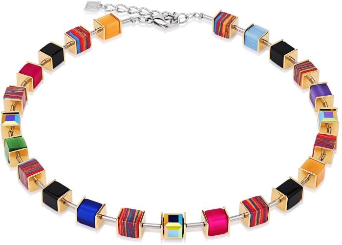 Coeur De Lion Geo Cube 4747/10-1500 Necklace