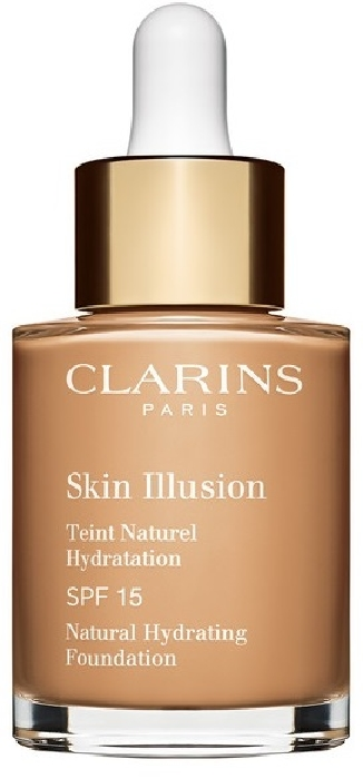 Clarins Skin Illusion Fluid Foundation SPF 15 #111 - Auburn 30ml