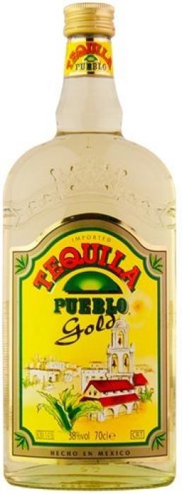 Pueblo Tequila Gold 0.7L