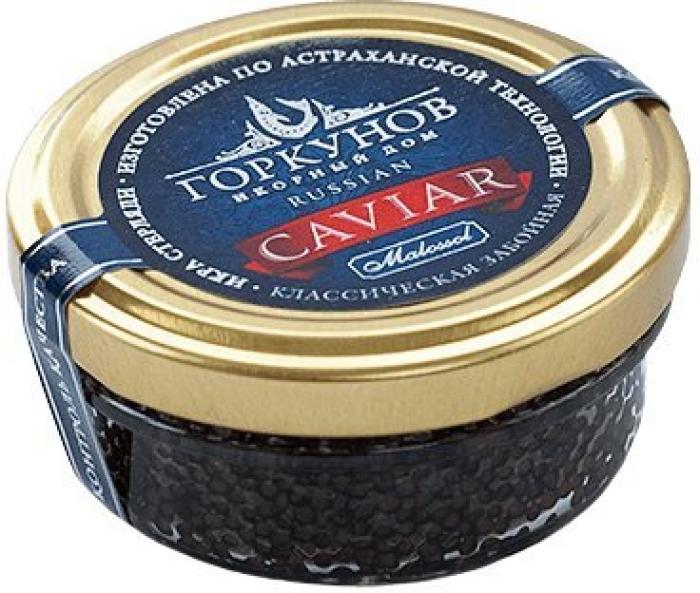 Gorkunov Sterlet Black Caviar 50g