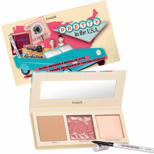Benefit Pretty In The USA Set 8g+5g+3g+0.17g