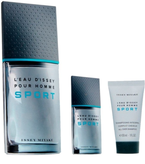 Issey Miyake L'Eau d'Issey pour Homme Sport Set EdT 100ml + 10ml + 30ml