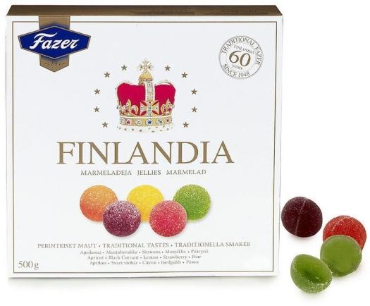 Fazer Finlandia Jellies 500g