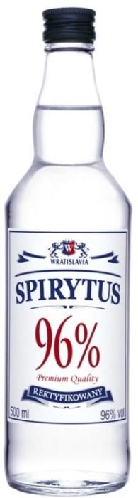 Wratislavia Spirytus Vodka 96% 0.5L