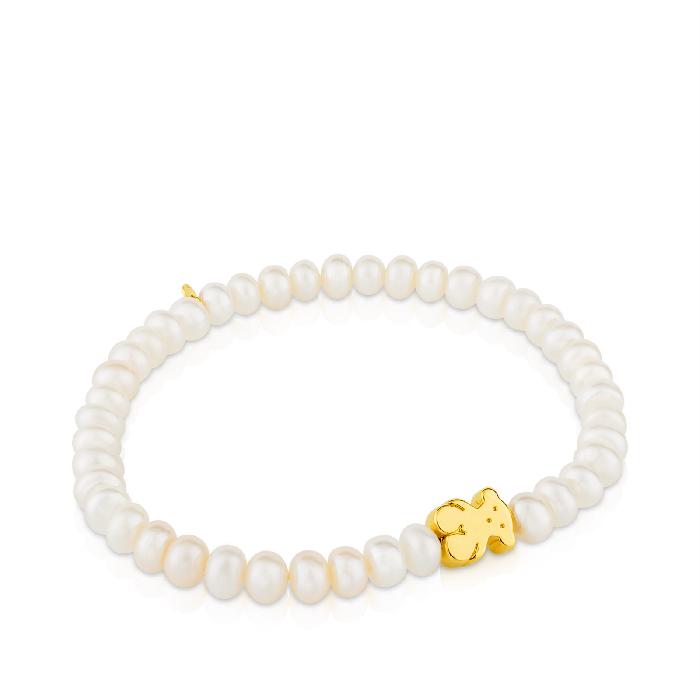Tous Gold Sweet Dolls Bracelet