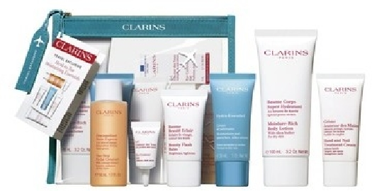 Clarins Body Care Set