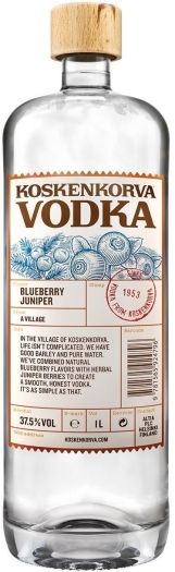 Koskenkorva Blueberry Juniper 37.5% 1L