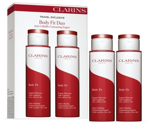 Clarins Body Fit Duo Set 2x200ml
