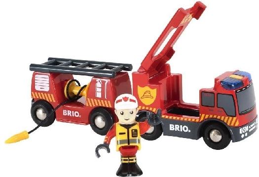 BRIO RW Rolling Emergency Fire Truck